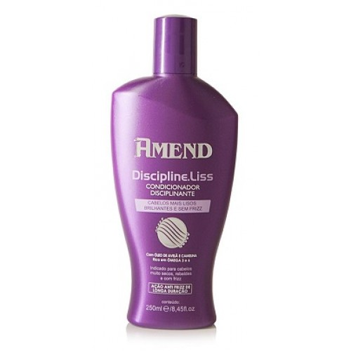 AMEND COND. DISCIPLINE LISS GOLD BLACK 250ML