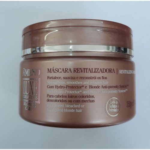 AMEND MÁSCARA REVITALIZADORA BLONDE CARE 250G