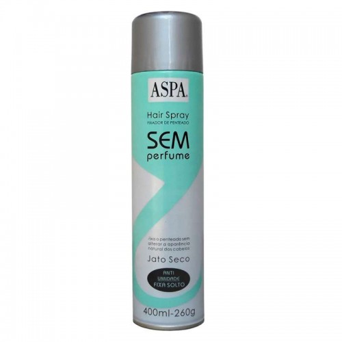 ASPA HAIR SPRAY NORMAL S/ PERFUME 400ML