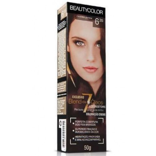 BEAUTY COLOR 6.35 CHOCOLATE GLAMOUR 45G