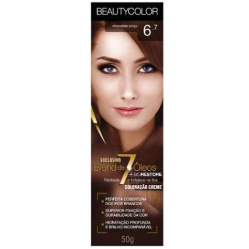BEAUTY COLOR 6.7 CHOCOLATE SUÍÇO 45G