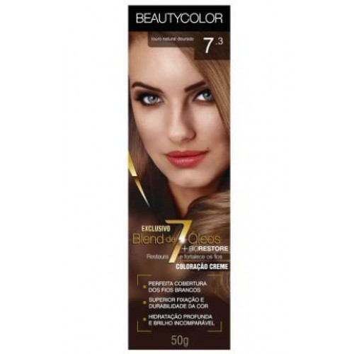 BEAUTY COLOR 7.3 LOURO DOURADO