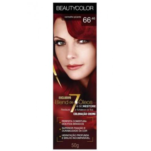 COLORAÇÃO 66.46 CHAMA PROVOCANTE BEAUTY COLOR 45G
