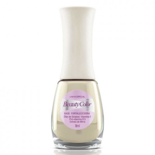 ESMALTE BEAUTY COLOR BASE FORTALECEDORA TRAT. 8ML