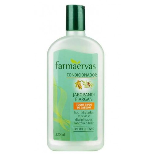 FARMAERVAS CONDICIONADOR JABORANDI + ARGAN 320ML