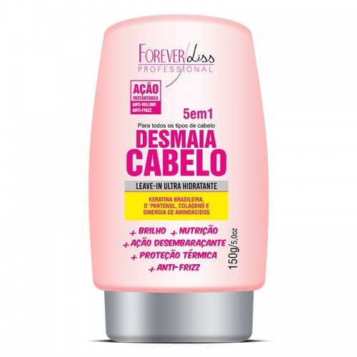 FOREVER LISS LEAVE IN DESMAIA CABELO 150G
