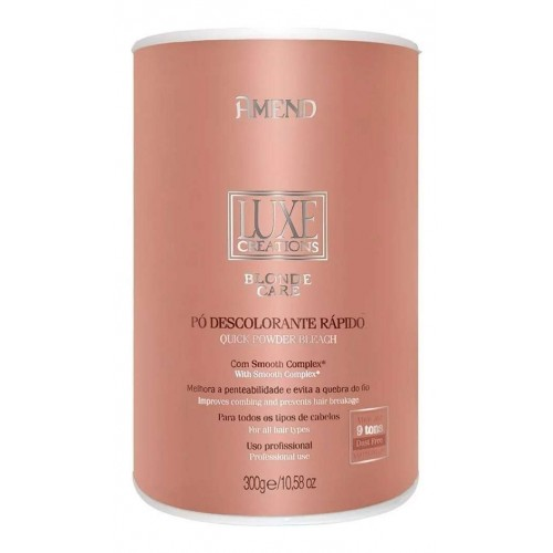 PÓ DESC. LUXE CREATION BLOND CARE 9T AMEND 300G.